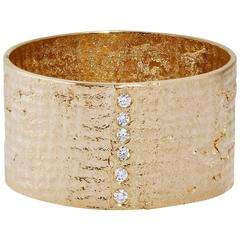 Allison Bryan Paper Cigar Ring with Diamonds