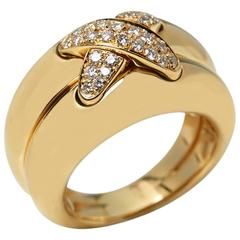 Chaumet Diamond Liens Gold Ring