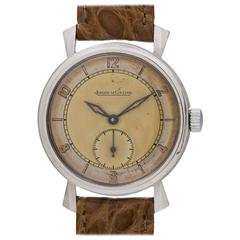 Jaeger-LeCoultre Dress Model Manual Wind Wristwatch, circa 1940s