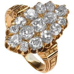 Victorian Gold and Diamond Ring