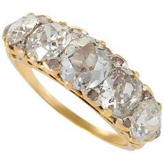 Antique Diamond Five-Stone Ring