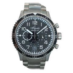 Breguet Titanium Transatlantique Type XXI Flyback Automatic Wristwatch