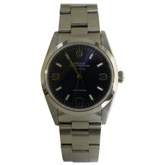Rolex Stainless Steel Air-King Precision Wristwatch Model 14000