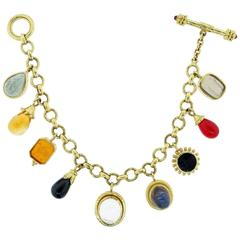 Elizabeth Locke Charm Bracelet