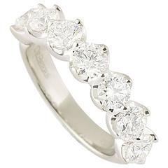 De Beers Half Allegria Diamond Ring 1.93 Carat