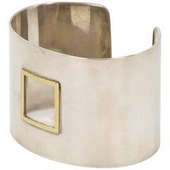 Silver Bracelet by James Rivière, Italy, 2000