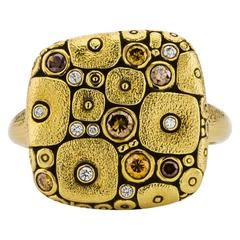 Alex Sepkus Gold and Diamond Ring