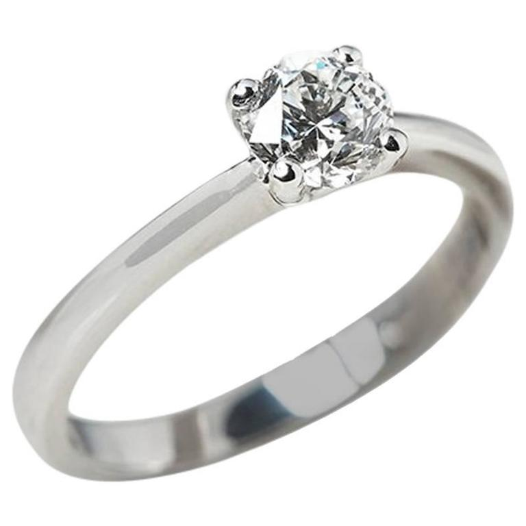 Diamond White Gold Engagement Ring