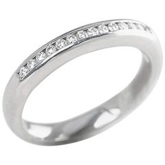 Boodles Half Eternity 0.30 Carat Diamond Platinum Ring