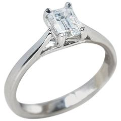 Mappin & Webb GIA Certified Diamond Engagement Ring