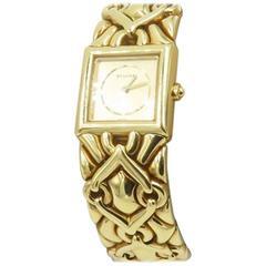 Bulgari Ladies Yellow Gold Trika Quartz Wristwatch