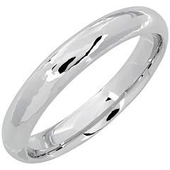 White Gold Blaeu Wedding Band Ring