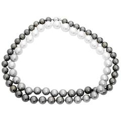 Stunning Ombre South Sea Pearl Necklace