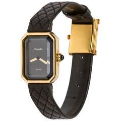 Chanel Ladies Yellow Gold Quartz Wristwatch