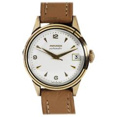 Movado Gold-Plated Automatic Wristwatch, circa 1950s
