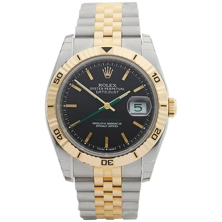 Rolex Datejust Turn-o-Graph Gents 116263 Watch For Sale