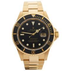 Rolex Submariner Gents 16618 Watch