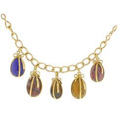 Tiffany & Co. Jean Schlumberger Egg Charm Bracelet