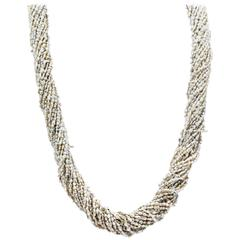 Keshi Pearl Multi Strand Necklace