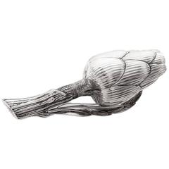 Missiaglia 1846 Sterling Silver Salt Shaker Artichoke
