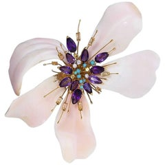 Orchid Brooch by Sterlé