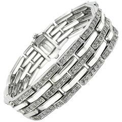 Chimento Diamond White Gold Bracelet