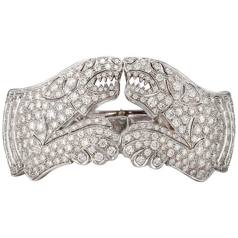 Missiaglia Panther Diamond Bracelet