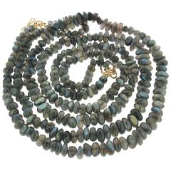 Two Strand Labradorite Necklace