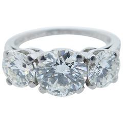 Tiffany & Co.  2.2 Carat Diamond Platinum Ring