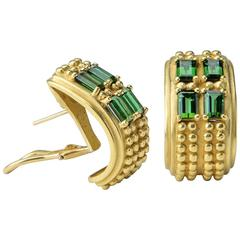 Kieselstein-Cord Tourmaline Gold Earrings