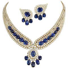 Van Cleef & Arpels Sapphire Jewelry Suite