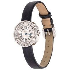 Cartier Love 18 Karat White Gold and Diamond Wrist Watch