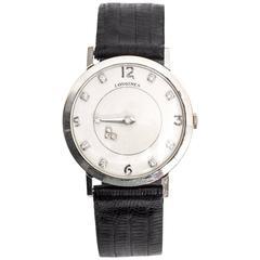 Longines Mystery Diamond Gold Wristwatch, circa 1950s