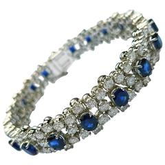 Missiaglia Diamond and Sapphire Bracelet