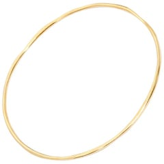 Ippolita Yellow Gold Bangle Bracelet