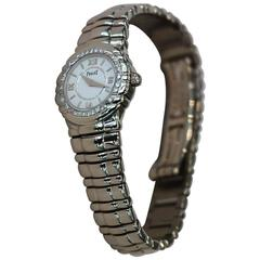Piaget Ladies White Gold Diamond Bezel Tanagra Quartz Wristwatch