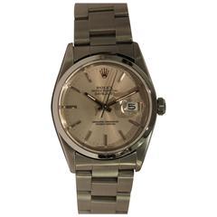 Rolex Stainless Steel Datejust Oyster Bracelet Wristwatch, circa 1997