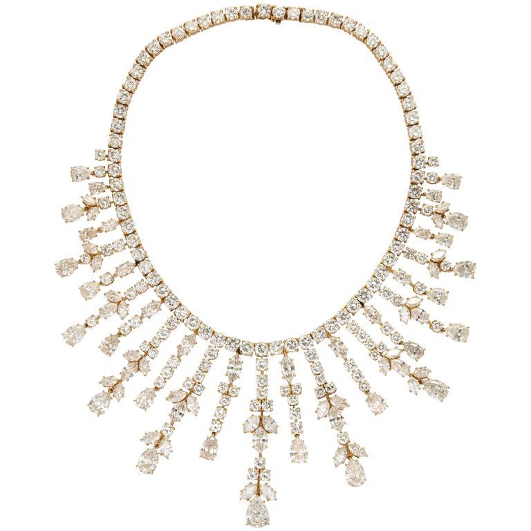Important Van Cleef & Arpels Diamond Tania Necklace