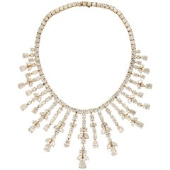 Important Van Cleef & Arpels Diamond Tania Necklace