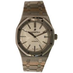 Audemars Piguet Stainless Steel Royal Oak Automatic Wristwatch