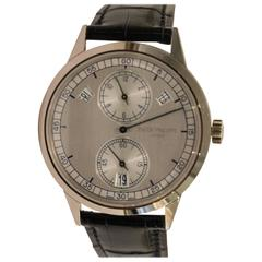 Patek Philippe White Gold Day Date Regulator Mechanical Self-Winding Wristwatch