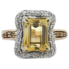 Topaz Diamond Fashion Ring