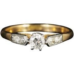 Antique Edwardian Diamond Engagement Ring, circa 1915