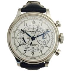 Baume & Mercier Stainless Steel Capeland XXL Chronograph automatic Wristwatch