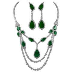 David Morris Emerald Diamond Platinum Suite