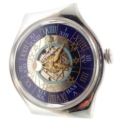 Swatch Platinum Tressor Magique Automatic Limited Edition Wristwatch