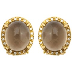 Faraone Mennella Caramelle Smokey Quartz Earrings