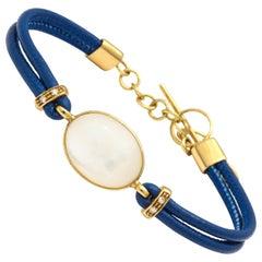 Faraone Mennella Mother-of-Pearl Gold Bracelet