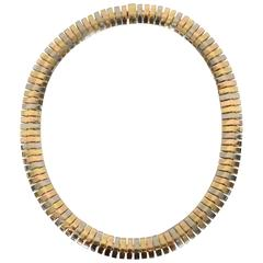 Cartier Tricolor Choker Necklace
