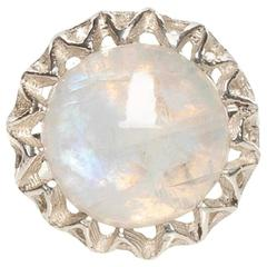 Fouché Moonstone Silver Ring